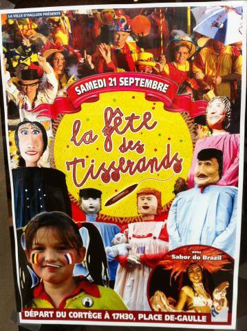 Affiche Fête Des Tiserands 2013 - Halluin